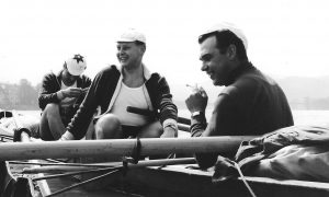 06 Rudolf Trum Mitte mit Rolf Frangenberg rechts 1965 Bild privat