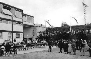 Einweihung des Clubhaues 1963