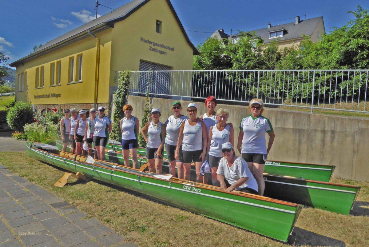 """""""Damen on Tour 2017"""" – mit schwerem Gepäck auf Saar und Mosel"""