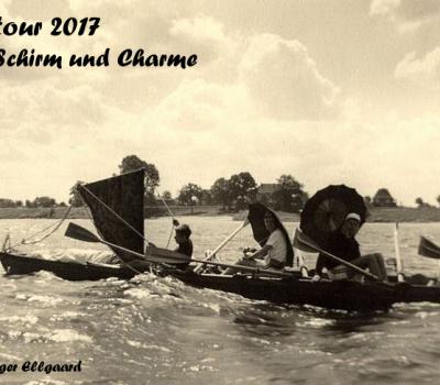 Lahntour 2017 mit Schirm und Charme