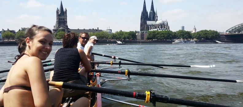 Fünf Orte um Rudern zu lernen – Kölner Stadtanzeiger vom 9.06.2015
