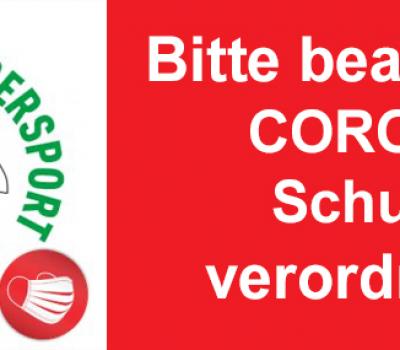 Wichtig!!!  Corona-Handlungsanweisung CfWP – 20.12.2020