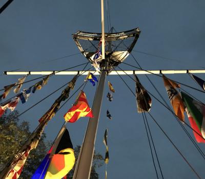 Wenn's die  Spatzen von den Booten pfeifen: Gelungenes Herbstfest beim CfWP