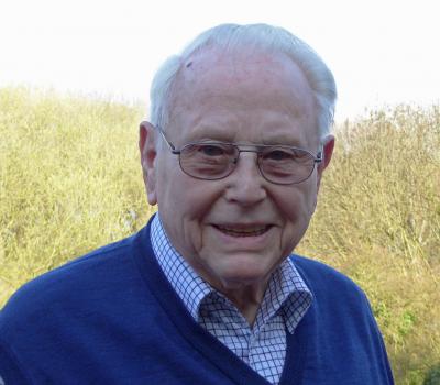 Fast so alt wie der Club: Rudi Trum zum 90. Geburtstag