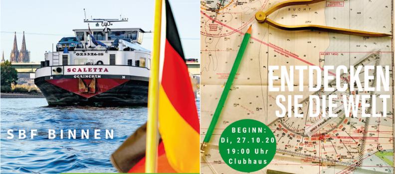 Neue Kurse für die amtlichen Sportbootführerscheine Binnen und See